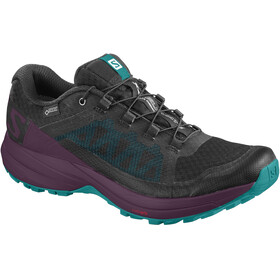 Salomon XA Elevate GTX Shoes Women Black/Potent Purple/Tropical Green